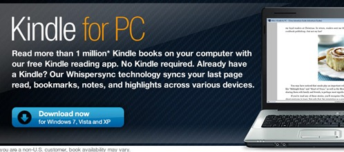 Free Kindle for PC Download