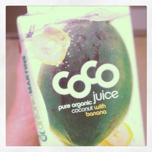 7 Coco Drink nach dem Training