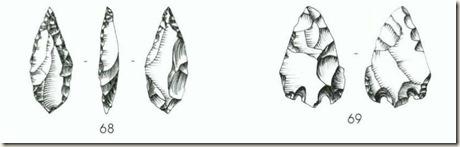 Instrumentos de sílex de la Ratlla del Bubo