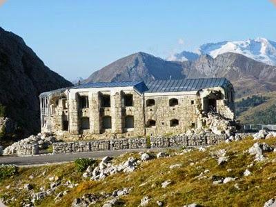 Museo_della_Grande_Guerra_1914-1918 rovine
