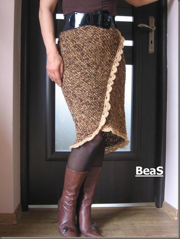 zimowa spódnica