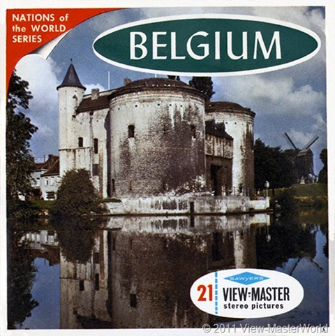 View-Master Belgium (B188), Packet Cover