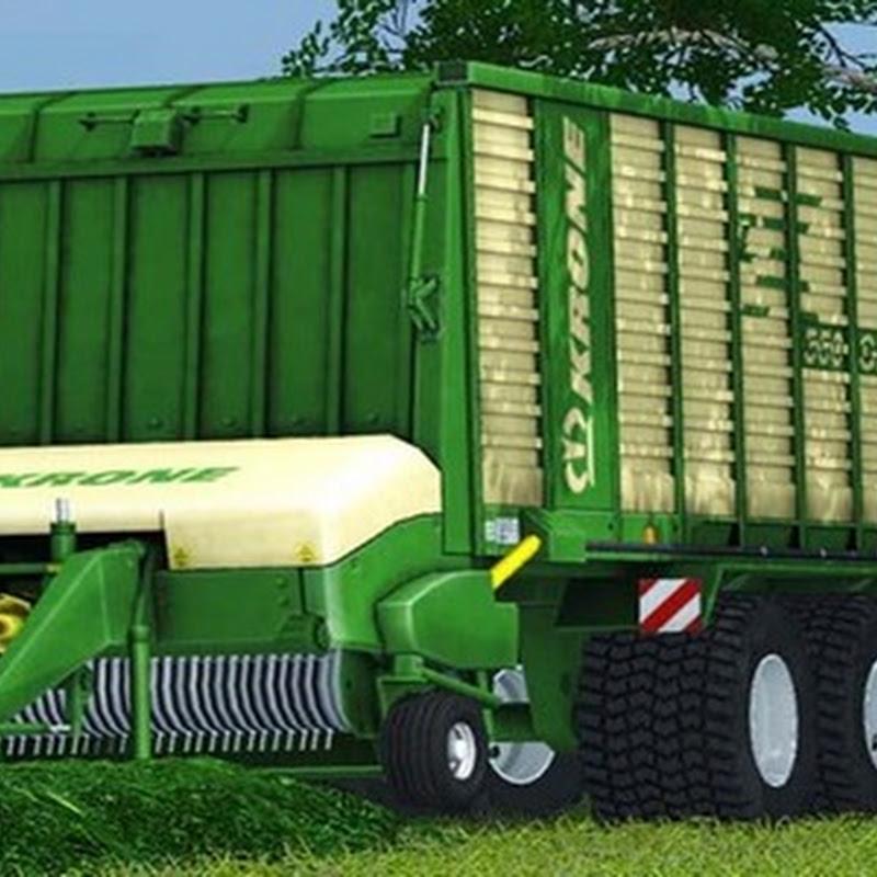 Farming simulator 2013 - Krone ZX 550D V1