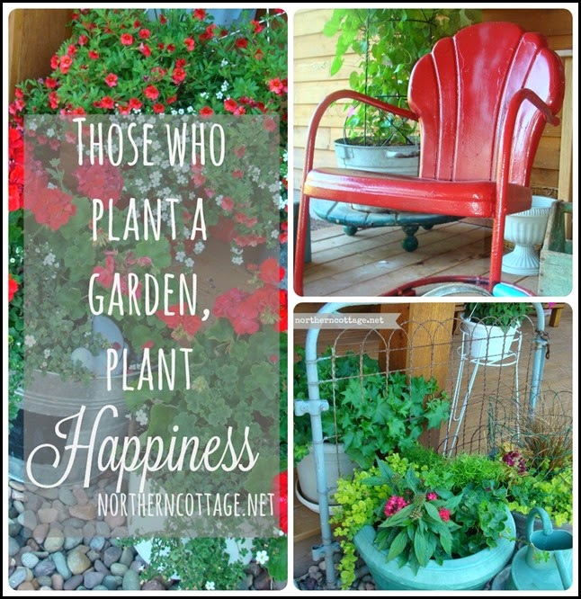 garden happiness {NorthernCottage}