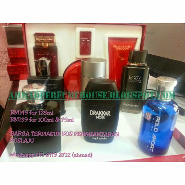 Original reject perfume for men terbaik in stock