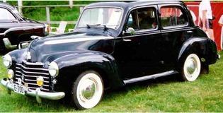 Vauxhall 1948 Wyvern LIX