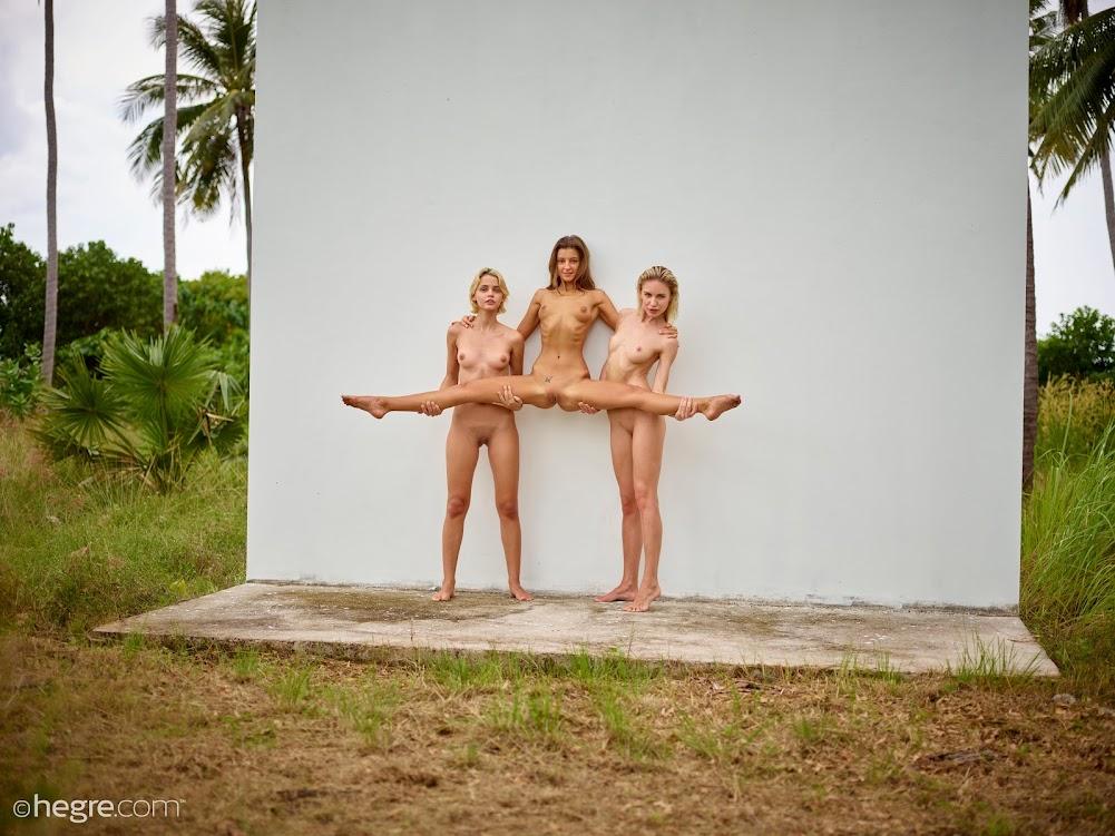 [Hegre-Art] Ariel, Marika, Melena Maria - In The Jungle hegre-art 10270