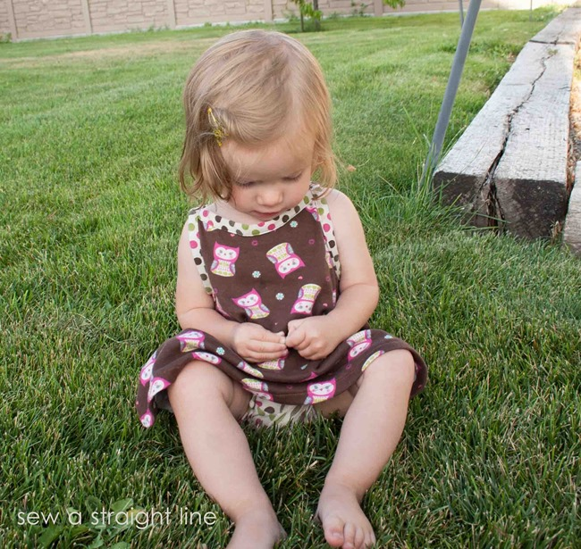 ruched romper hack sew a straight line-1
