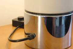 Guzzini Brumbry lamp white switch detail
