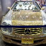 most beautiful mercedes benz in the world in Shibuya, Tokyo, Japan
