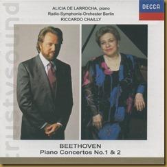 Beethoven concierto piano 2 de Larrocha Chailly