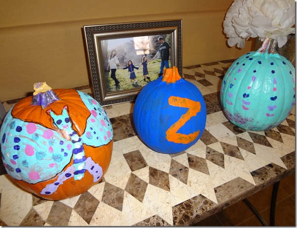 Painting Pumpkins 001