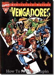 P00024 - Biblioteca Marvel - Avengers #24