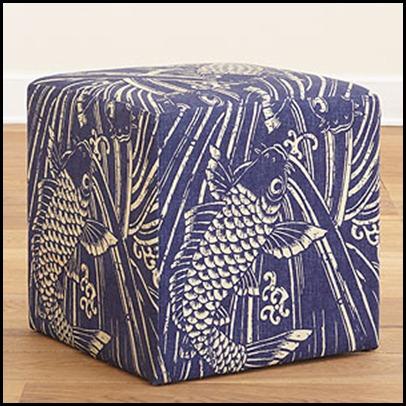 Indigo Koi cube 79.99 world market