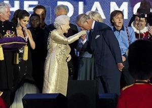 Королева и Чарльз