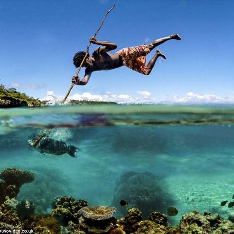 Acrobatic Fishermen of New Caledonia