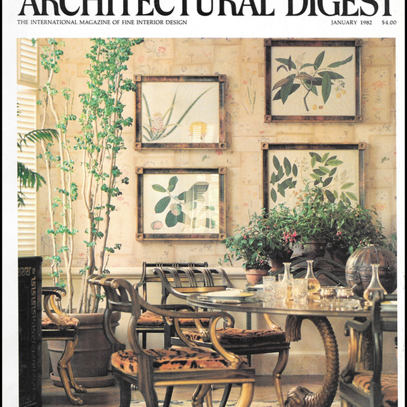 Architectural Digest: Lee Radziwill