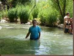 Hiking Snir River in Golan Hieghts