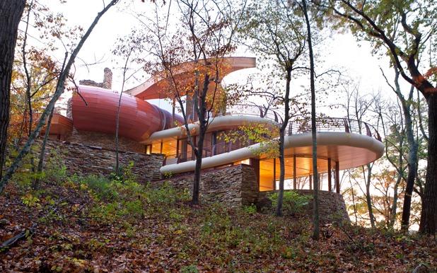 chenequa residence by robert harvey oshatz architect 2