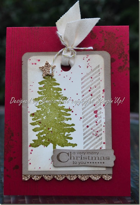 Stampin 'Up! Evergreen meets Gorgeous Grunge_