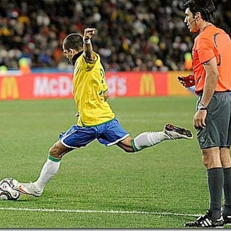 Top 7: Gols de falta da seleção brasileira