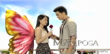 Barbie Forteza and Derrick Monasterio in Mariposa