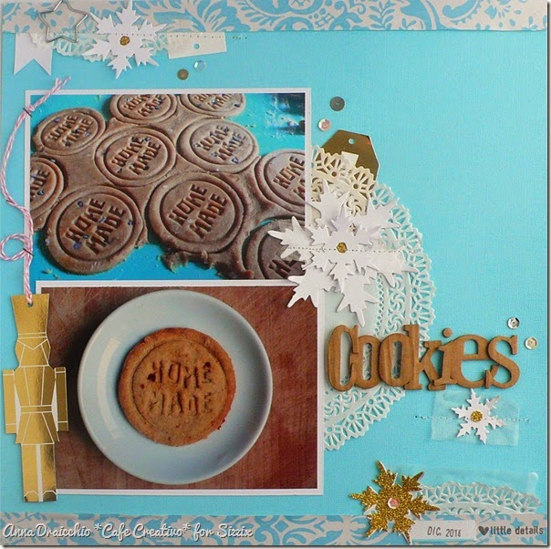cafe creativo - sizzix big shot - scrapbooking christmas cookies (1)