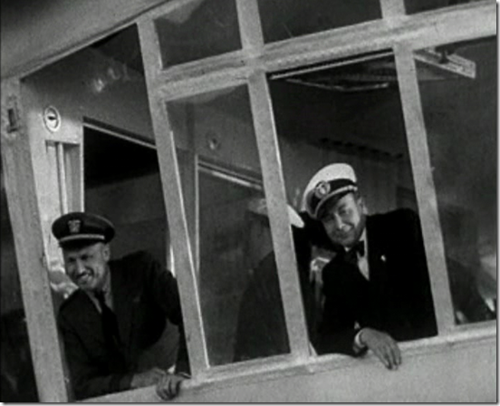 Peck and Lehmann in Hindenburg control car
