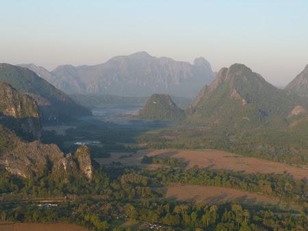 Laos vazut din balon