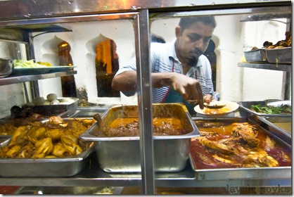 Nasi Kandar Beratur@Kapitan Keling,Penang (The original recipe since 1943)