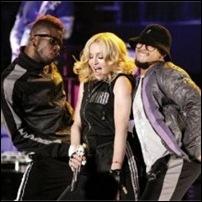 Madonna bailarinos
