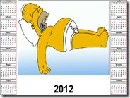 Creare al volo calendario online con le proprie foto pronto da stampare o salvare in PDF