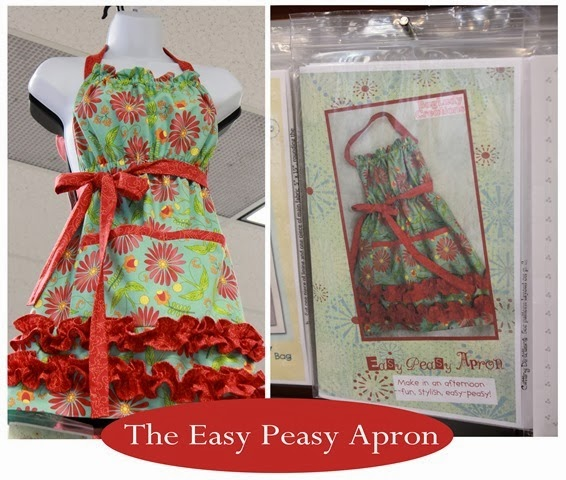 Easy Peasy Apron and pattern!