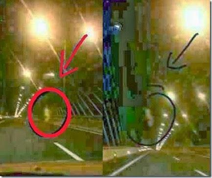 gambar hantu pocong dirakam di jambatan ke-2 pulau pinang