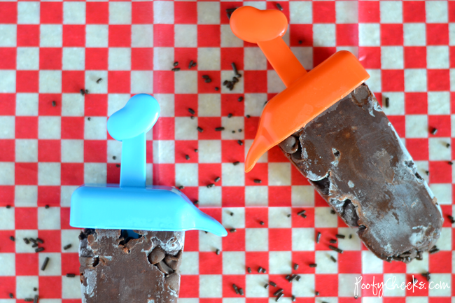 Triple Chocolate Pudding Ice Pop Recipe
