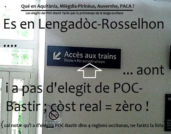 signaletica en Lengadòc Rossilhon comentat