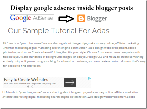 display-google-adsense-inside-blogger-posts