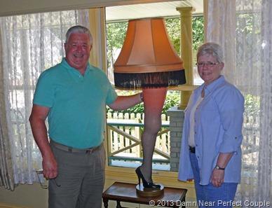 Keith & Brenda w Leg Lamp