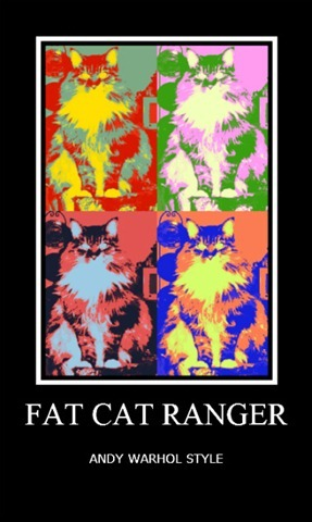 Fat Cat Ranger Pop Art