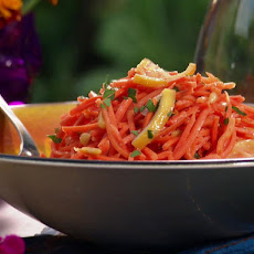 Moroccan Carrot Salad with Parsley and Roasted Lemon
