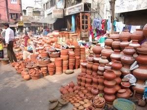 Market Pot Stall
