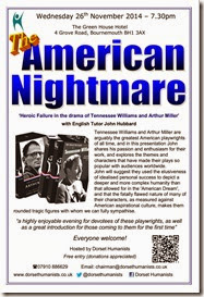 American Nightmare 26th November 2014