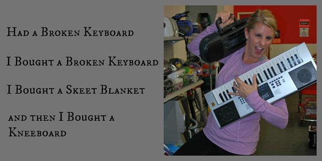 Keyboard - Primer & Painted Nails
