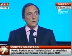 Satisfatório para o CDS - PP impossíveis para o país. Mai.2013