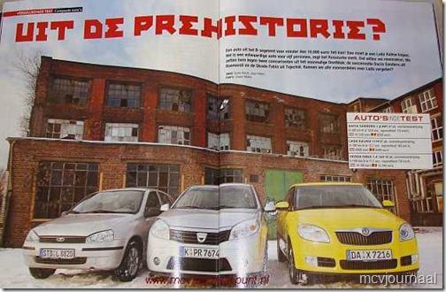 Autoreview test Dacia Sandero 01