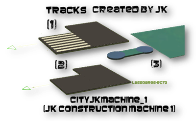 cityjkmachine_1  (JK Construction Machine 1) Custom Tracks (JK) lassoares-rct3