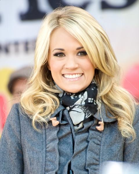 Carrie Underwood popular hairstyle for women