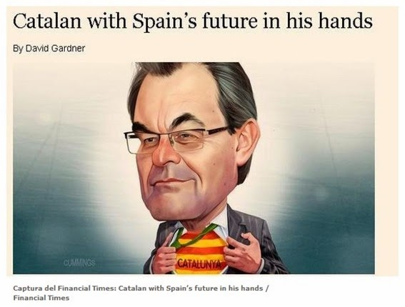 Artur Mas Financial Times