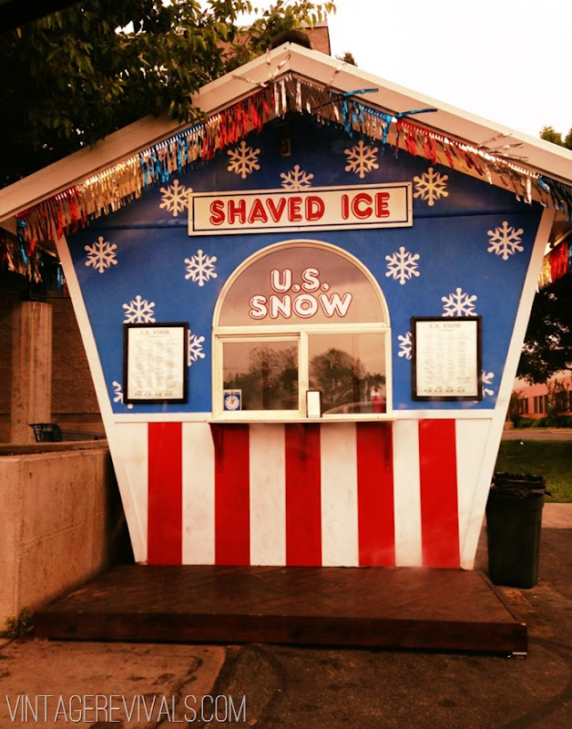 Snow cone St. George UT
