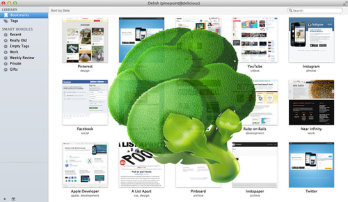 Delish pinboard mac app